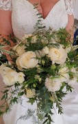 Bridal Bouquet, Rustic and wild