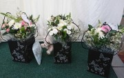 Gift Handtied Bouquets for the speeches