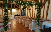 Floral 6ft x 6ft rustic Arch – Crabbs Barn, Kelvedon